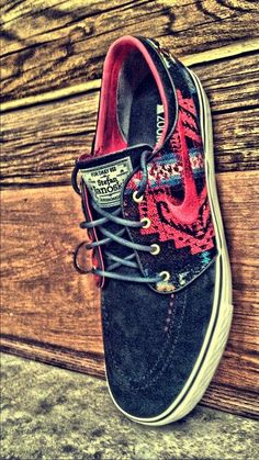 Nike SB Zoom Stefan Janoski Premium Pendleton iD | Flickr - Photo Sharing!