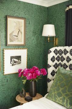 HOUSE+TOUR:+Designer+Andrew+Brown's+Birmingham+Cottage+Is+A+Life-Size+Cabinet+Of+Curiosities - Veranda.com