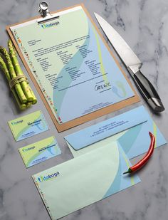 Stationary set design for a catering company