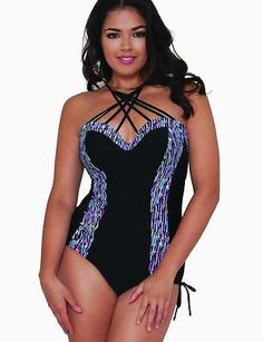 b7410909ae Curvy kate  galaxy underwired  padded swimsuit cs3757 black new  swimming  costume