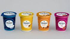Allink: Yogos soll so gut aussehen, wie es schmeckt - PR/Corporate Yogurt Packaging, Luxury Private Jets, Corporate Communication, Condensed Milk, Advertising Design, Packaging Design, Frozen, Dairy, Greek Yogurt