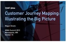 Customer Journey Mapping: Illustrating the Big Picture