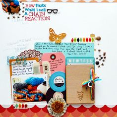 Scrapbooking Process When Your Starting Point is Product | Sian Fair | Get It Scrapped