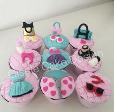 Surprise Birthday, Girl Birthday, Birthday Parties, Cupcake Cookies, Cupcake Toppers, Cupcakes, Sweet Cakes, Chocolates, Christening