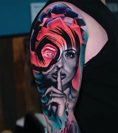 Demirci tells INKED how he found his way into the tattoo industry and where he finds inspiration for his unconventional designs. Badass Tattoos, Body Art Tattoos, Cool Tattoos, Tatoos, Awesome Tattoos, Colored Tattoo Design, Colour Tattoo, World Famous Tattoo Ink, Famous Tattoos