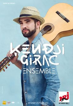"""The french gypsy singer, Kendji Girac, will be in tour for the second time in 2016 across France. This Tour is called """"Together"""".He will sing many of his popular tunes like """"Bella"""", """"Conmigo"""", """"Andalouse"""",""""Color Gitano"""" from his first album but also new songs of his next record."""