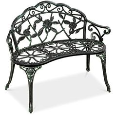 100+ Iron 6th Anniversary Gifts for Him - Unique Gifter Patio Bench Cushions, Yard Benches, Sectional Patio Furniture, Patio Furniture Sets, Patio Chairs, Outdoor Furniture, Outdoor Benches, Outdoor Ideas, Outdoor Spaces