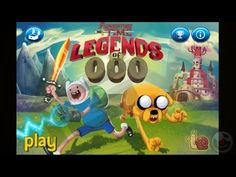 Adventure Time Legends of Ooo Big Hollow Princess - iPhone Gameplay Video