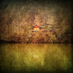 My Secret Cabin in the Woods by Tamera on Etsy