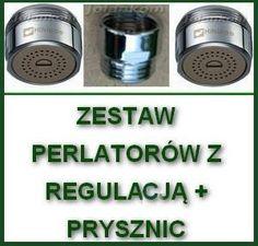 a)Perlatory M24x1 z regulacją zlewozmywak umywalka prysznic