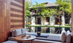 The Chedi Chiang Mai Lobby Lounge with a view