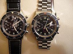 Vintage Pilot Watches (Zenith + Bulova)