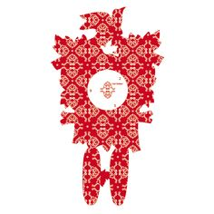 Mini Kuckucksuhr Flatboard - rotes Muster  Hersteller: ( Carl Grüttert )  Gewicht: 2.10 Kilogramm  Preis: €59,90 (inkl. 19 % MwSt.)  Preis: €50.34 (Tax Free)