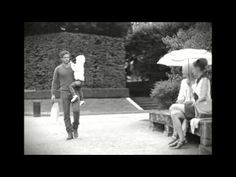 The poetic video directed by Karl #Lagerfeld for spring/summer 2013 #CHANEL collection shot in the gardens of the Rodin Museum with Lindsay Wixon, Stef van der Laan Aymeline Valade, and model Brad Koenig