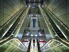 Metro Station - Copenhagen, Denmark https://www.facebook.com/pages/Tante-Brocante-en-De-Dames-Van-Dale/110046885761851?ref=hl