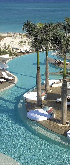 regent palms... turks caicos. Great resort style pool. Pinned onto Pool Design by Darin Bradbury.