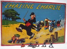 Chasing Charlie Snakes and Ladders type game