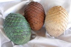 Timbo's Creations: Game of Thrones Dragon Eggs