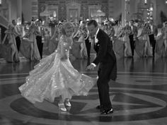 Cinema Style File--Fred Astaire and Ginger Rogers in 1935's Art Deco TOP HAT | GlamAmor