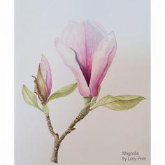 Billy Showell Online Tutorials - Magnolia by Lucy Prim