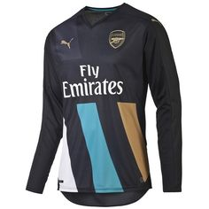 puma arsenal third long sleeve jersey 15 16