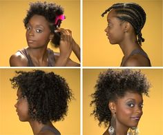 Flat Twist Out With Banding On Natural Hair http://www.blackhairinformation.com/general-articles/hairstyles-general-articles/flat-twist-banding-natural-hair/