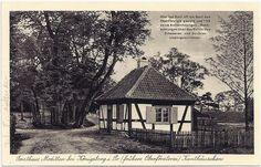 Ostpreußen. Forsth. Moditten b. Königsberg. Kanthäuschen. Fotogr.