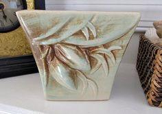 McCoy Planter/ Jardiniere  Rustic Pattern by LizzieJoeDesigns,