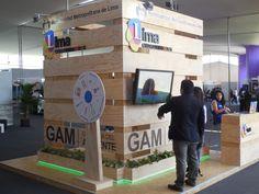 Pabellón Stands de Exhibición - Stand Municipalidad Metropolitana de Lima.