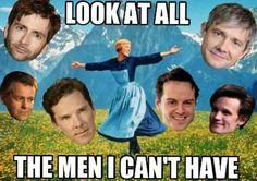 Haha.  I could make one for women, I suppose?  Natalie Portman, Sophie Turner, Emma Watson, Cate Blanchett......