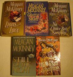 5+MEAGAN+MCKINNEY+Romance+books+MY+WICKED+ENCHANTRESS,+pbs+lot+