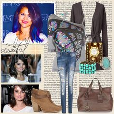 """""""Selena Gomez"""" by firewitch23 ❤ liked on Polyvore"""
