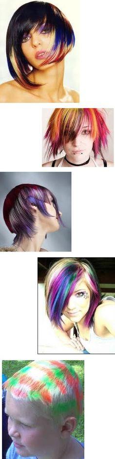Hair color on Pinterest | Crazy Hair, Rainbow Hair and Color For Short ...