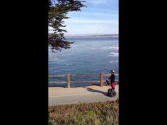 Segway Along Pacific Grove Coastline - YouTube