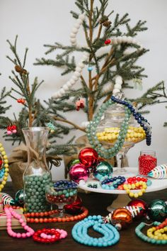 Festive Holiday Jewels | Kluster Happy Jewelry {Christmas Tablescape}