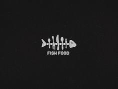 Fish Food logo - Garrett Bolin