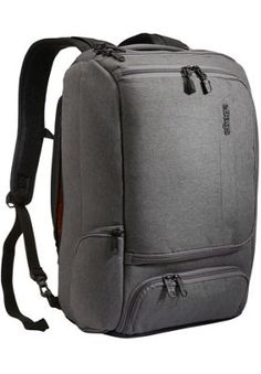 eBags TLS Professional Slim Laptop Backpack Heathered Graphite - via  eBags.com! Business Laptop b2fce31ea066