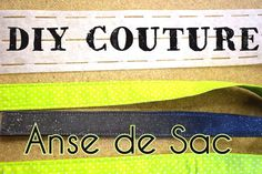 Coudre Facilement des Anses de Sac - Tuto Couture DIY Pop Couture, Techniques Couture, Sewing Hacks, Sewing Tips, Diy, How To Make, Crochet, Totes, Couture Facile