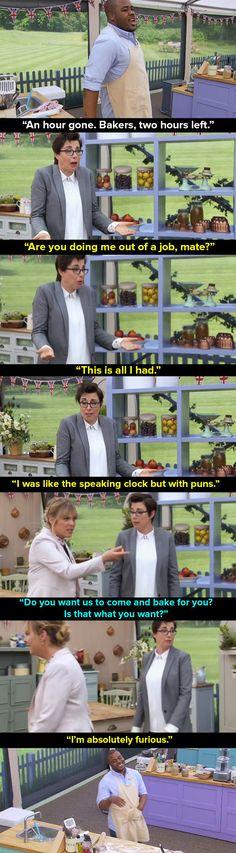 "When Selasi pissed off Mel and Sue. | The 39 Most Memorable Moments From ""Bake Off"" 2016"