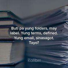 Filipino Funny, Filipino Quotes, Pinoy Quotes, Tagalog Quotes Patama, Memes Tagalog, Puns Jokes, Jokes Quotes, Hurt Quotes, Life Quotes