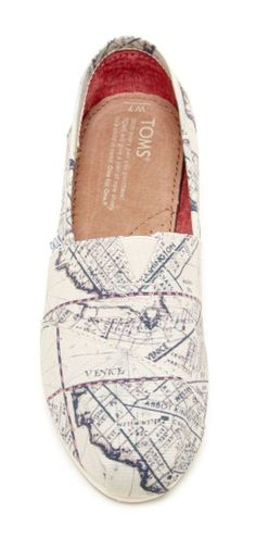 Old Venice Map TOMS ♥