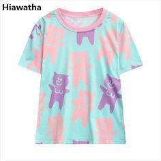 69232960e41 Click to Buy    Hiawatah Summer Short Sleeve T-Shirts Women Fashion.
