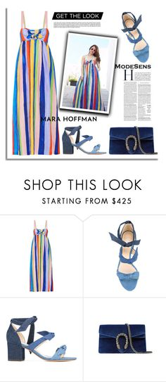 """Get The Look: Marian Rivera Dantes"" by modesens ❤ liked on Polyvore featuring Mara Hoffman, GetTheLook, MaraHoffman and modesens"