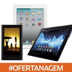 Tablets com preços imperdíveis para você! #Tablet #Tecnologia