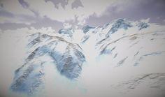 Zermatt, Mount Everest, Workshop, David, Mountains, Artwork, Nature, Travel, Atelier