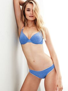 There's nothing like a classic...you can pretty much live in this bra every day. | Victoria's Secret T-Shirt Demi Bra