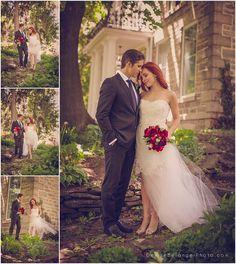 Kitchener-couple-wedding. Gown by Anais Anette  Denise Bélanger, Photographer www.denisebelangerphoto.com