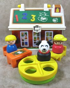 Fisher Price Little People Boy Farmer Overalls Work Animals Pretend Toy Play Fun
