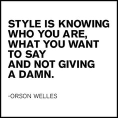 We don't give a damn. #quotes #inspiration #style