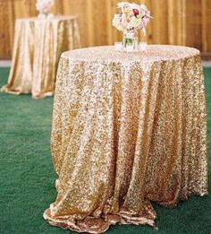 New Bling Rose Gold Sequins Table Cloth Wedding Party Round Wedding Decorations Free Shipping Silver Purple Royal Blue Pink Dress Fabric